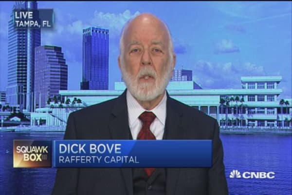 Big banks... where's the money coming from? Dick Bove