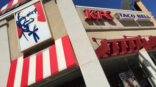Yum Brands' KFC and Taco Bell