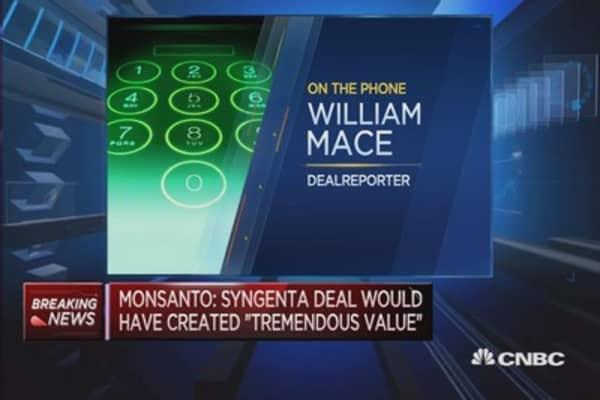 Monsanto drops Syngenta bid