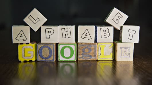 Google and Alphabet.