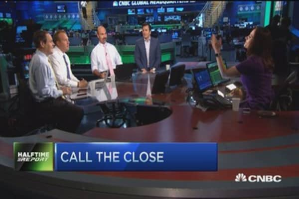 Top trades for the 2nd half: Call the close