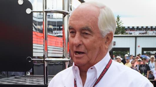 Roger Penske at Poconos Raceway