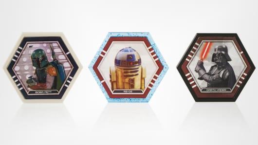 Star Wars trading discs