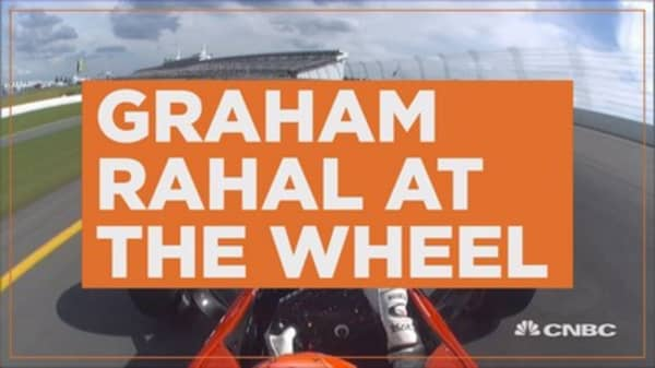 Behind the wheel with Graham Rahal