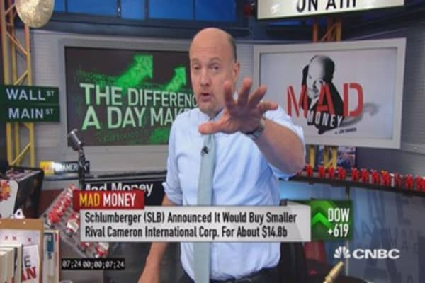 Cramer: This helped fuel 1-day monster rally