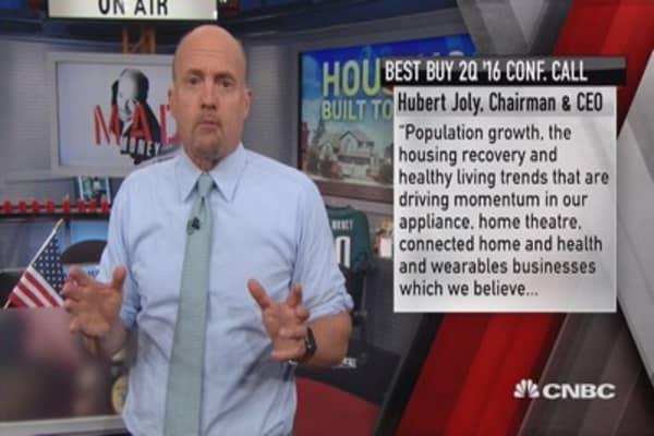 Cramer: Housing stocks on a multi-year comeback