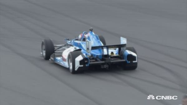 Need for speed: How 200 miles per hour in an IndyCar feels