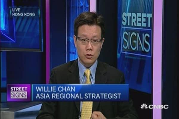 China stocks make a rebound - thanks to Fed