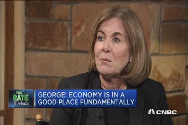 Esther George: Economy 'in a good place'