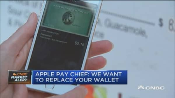 Apple: We want to replace your wallet