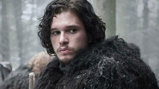 "Jon Snow in ""Game of Thrones"""