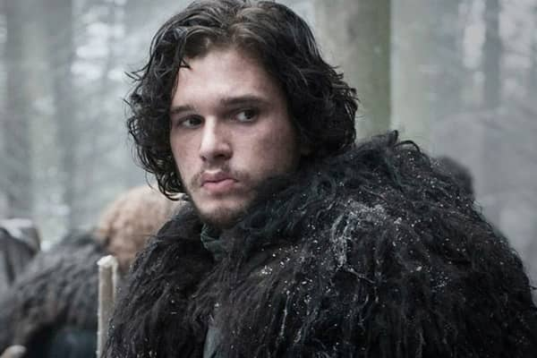 "Jon Snow in ""Game of Thrones"""