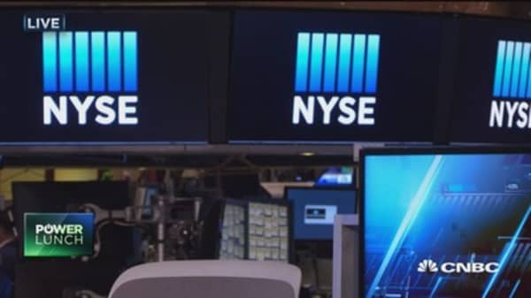 Displays not showing data at NYSE
