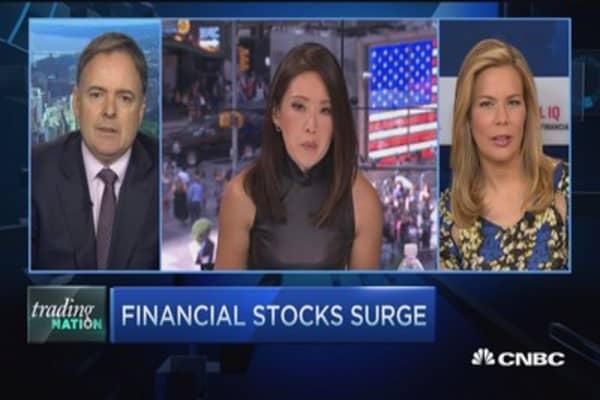 Financials in the spotlight