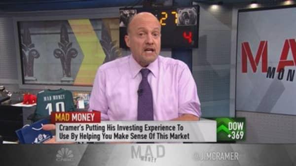 Cramer: Downside to rate hike fathomable