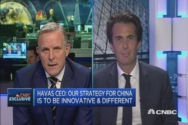 Europe to benefit from EM pain: Havas CEO
