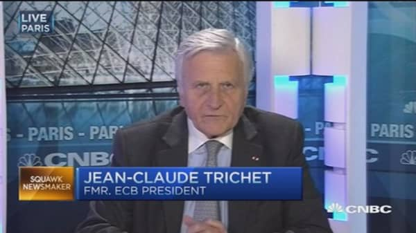 Trichet's global view