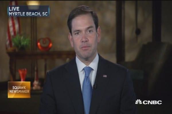 Sen. Rubio: US-China relationship will define 21st-century