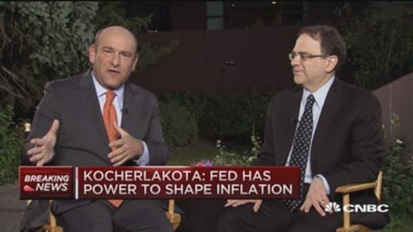 Tail risks to US markets: Kocherlakota