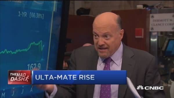 Cramer's Mad Dash: Ulta Salon