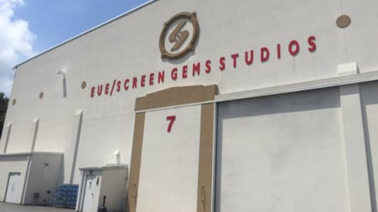 EUE/Screen Gems Studios in Atlanta, Georgia.