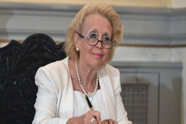Greece's first female prime minister