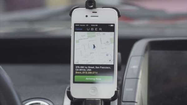 Uber fundraising in China