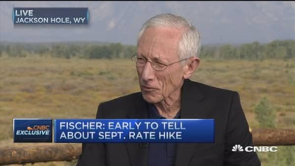 Fed's Fischer: Watching China closely