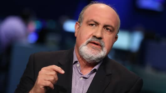 Nassim Taleb, author of The Black Swan.