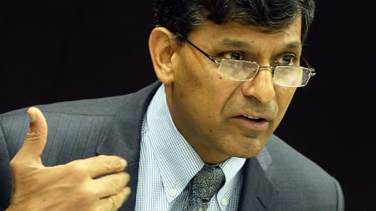 Reserve Bank of India Gov. Raghuram Rajan