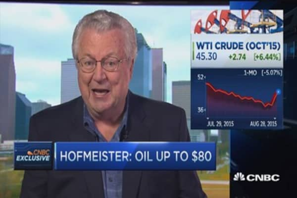 Hofmeister: $80 oil coming