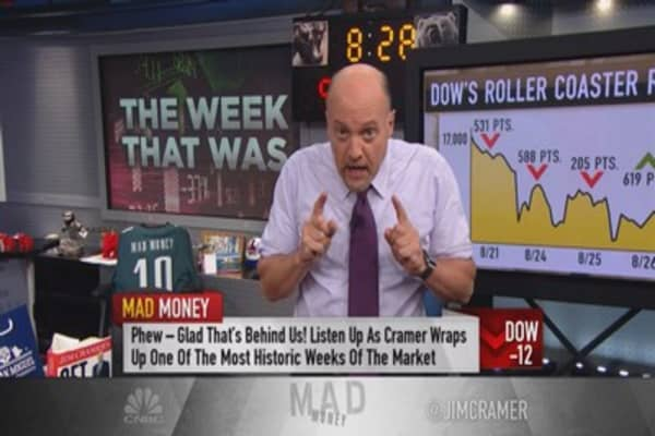Cramer: Big lessons from this week's flash crash