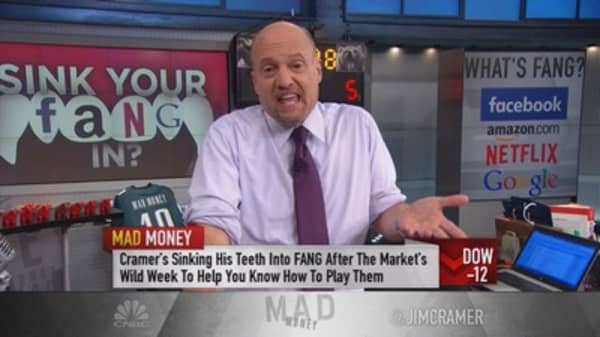 Cramer: Ignore temptation! Do not sell FANG