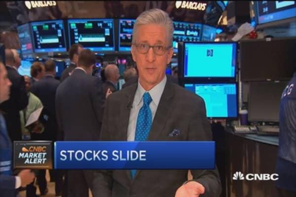 Pisani's market: Stocks slide at open