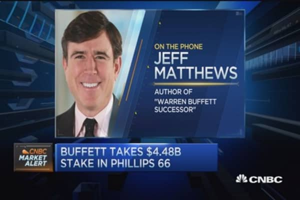 Buffett ups energy exposure