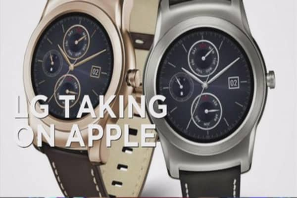 LG enters luxury smartwatch game