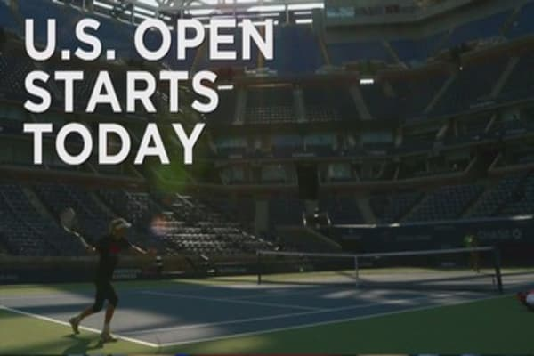 US Open starts today
