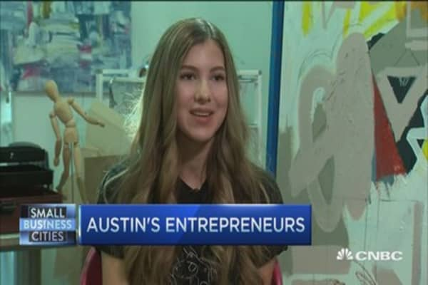 Austin's 14-year old rising star