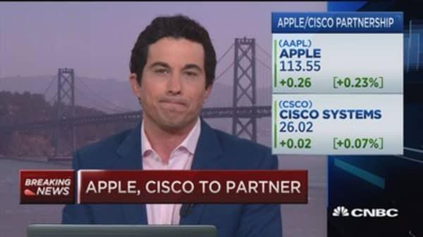 Apple-Cisco partnership?