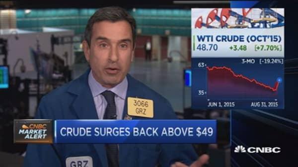 Oil's turnaround