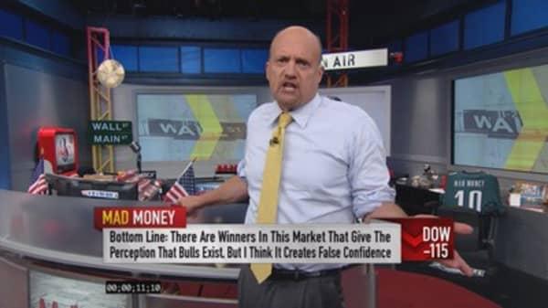 Cramer: A few stocks still running with the bulls