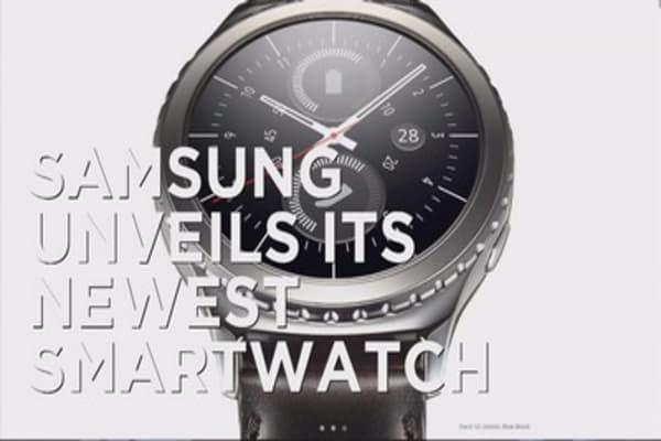 Samsung unveils new smartwatch