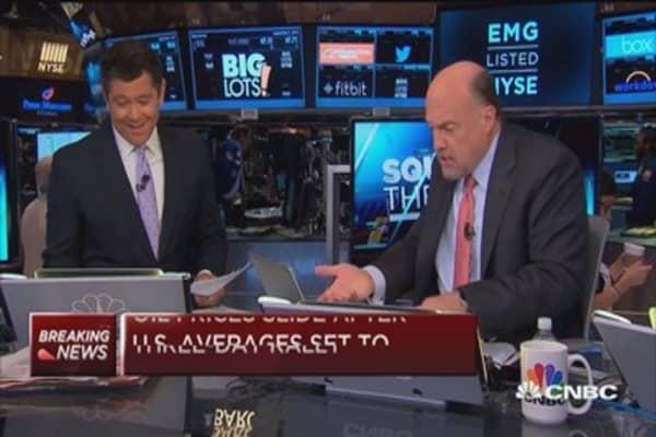 Won't tolerate market's stupid games: Cramer