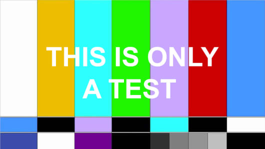 Emergency Broadcast System This is only a test