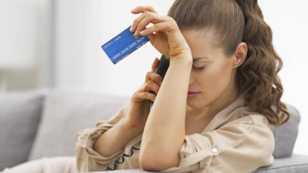 Millennial credit card stress