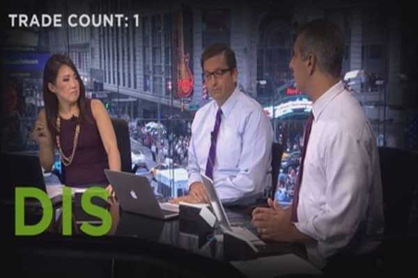 Trading today's selloff: 4 calls on 3 stocks