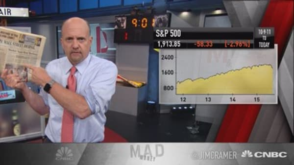 Cramer: 2011 collapse all over again?