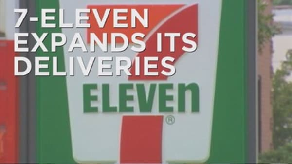 7-Eleven expands delivery to major cities