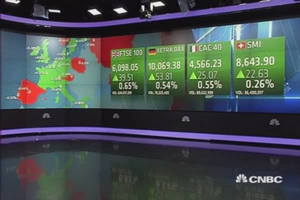 European shares end higher after Wall Street gains
