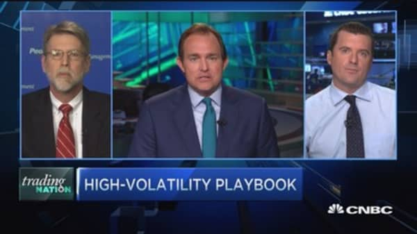 Trading Nation: Strategy vs. volatility